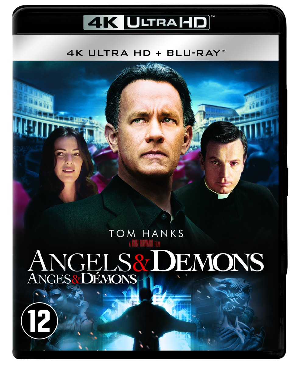 Angels and Demons (4K Ultra HD Blu-ray)-