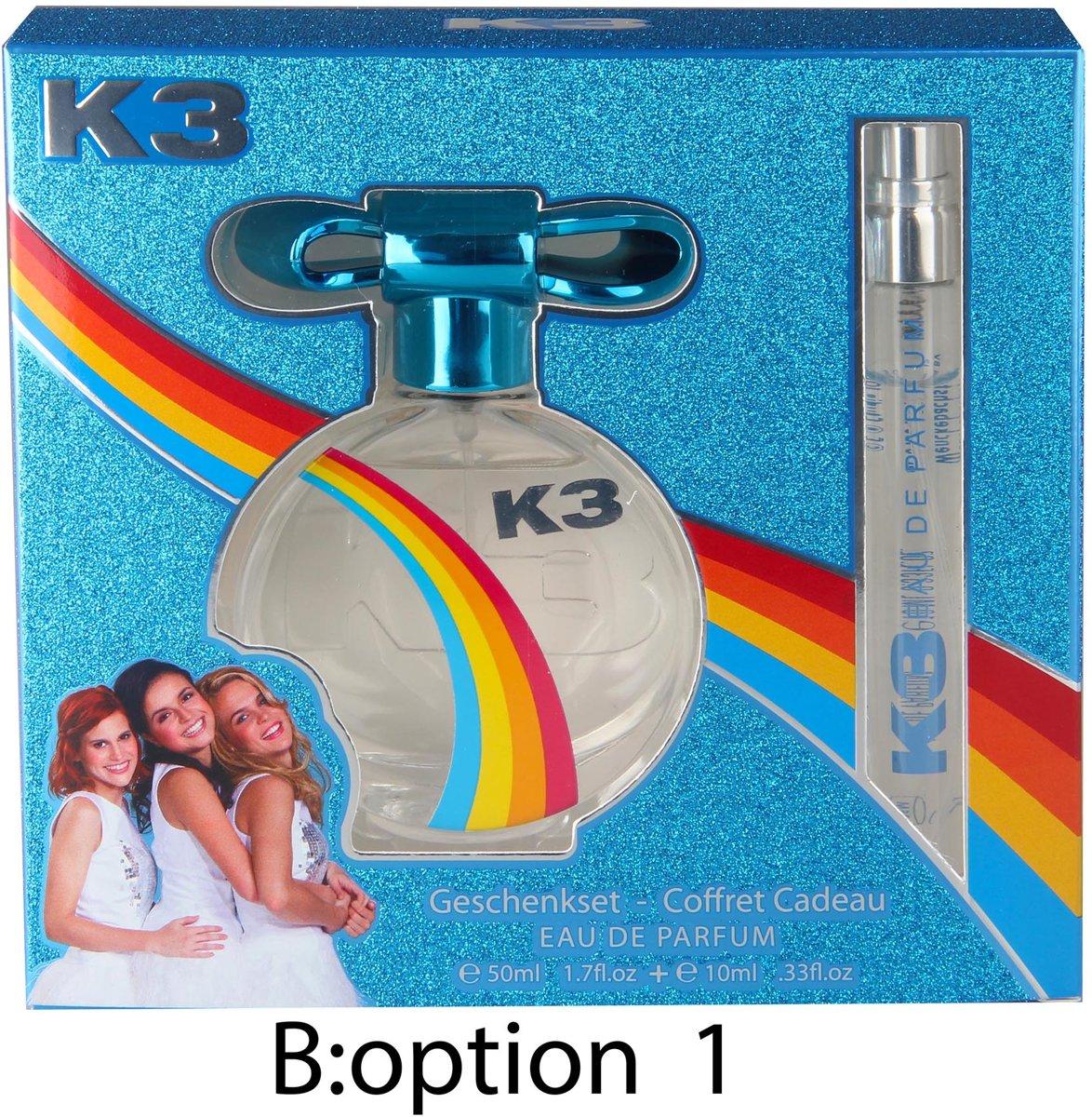 Foto van K3 Geschenkset EDP 50ml+10ml parfum