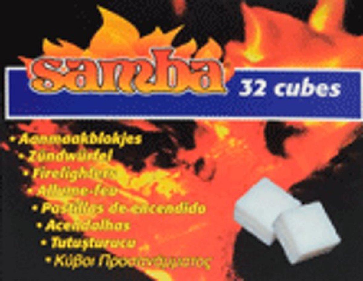 Samba Aanmaakblokjes 64 Stuks Wit kopen