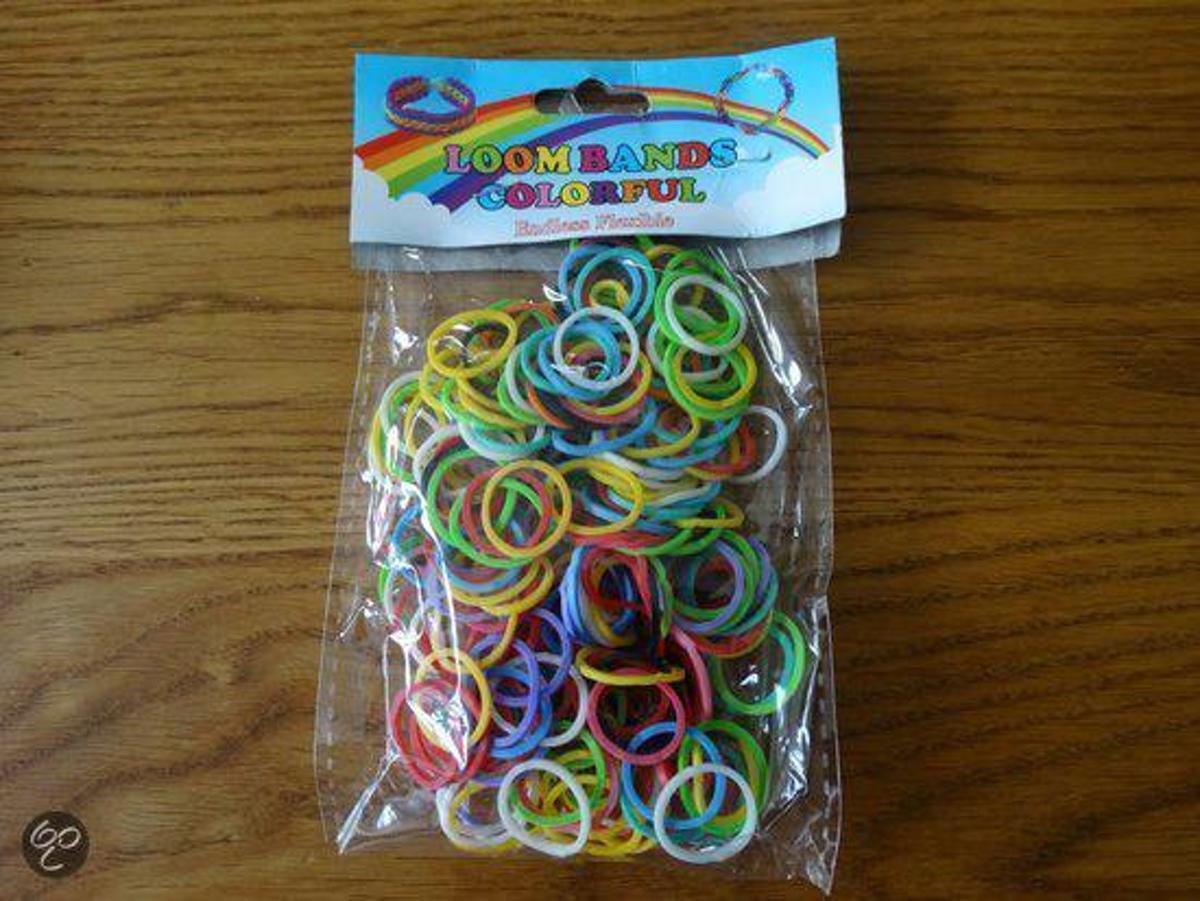Loombands Color Mix ( 600 stuks)
