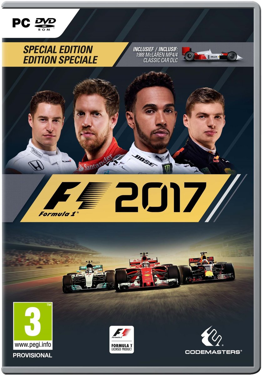 F1 2017 - Special Edition - PC voor €28,99