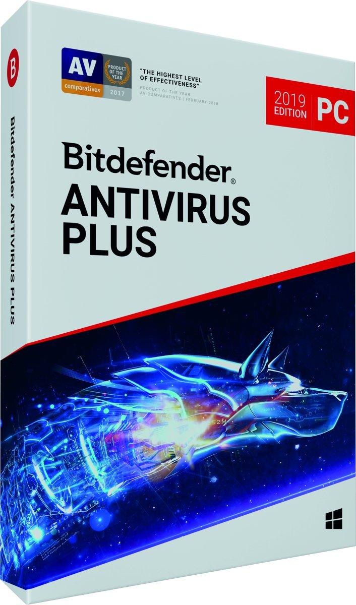 Bitdefender Antivirus Plus 2019 - 3 Apparaten - 2 Jaar - Windows kopen
