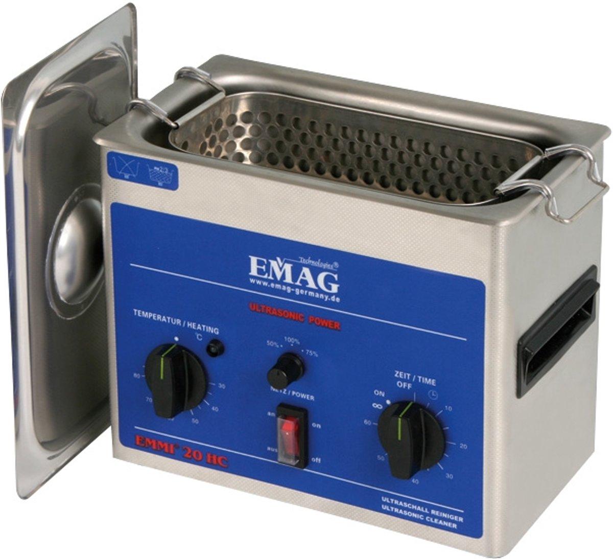 Emag Emmi 20HC - 2 liter ultrasoon Reiniger kopen