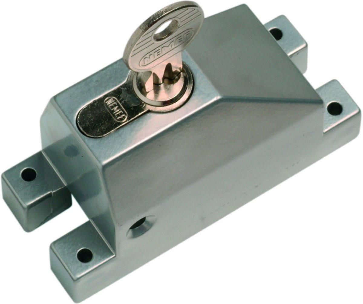 Nemef espagnoletbeveiliger 2809 - Inclusief cilinder 105/9 - In zichtverpakking