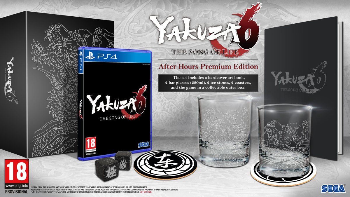 Yakuza 6 - The Song of Life After Hours Edition PlayStation 4