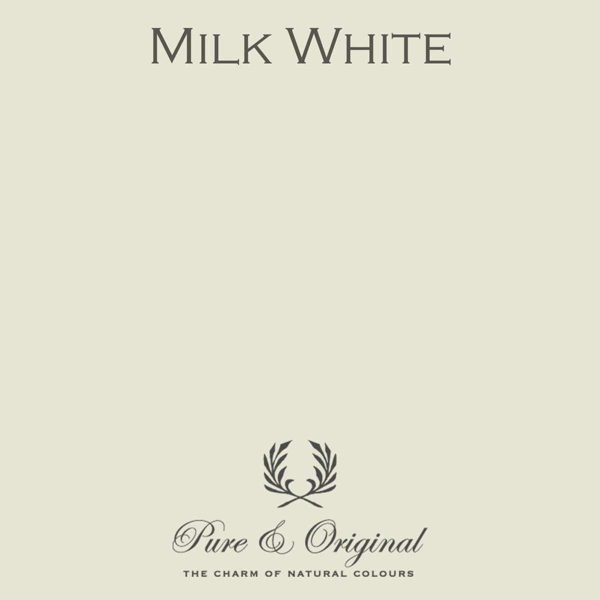 Pure & Original Fresco Kalkverf Milk White 2.5 L