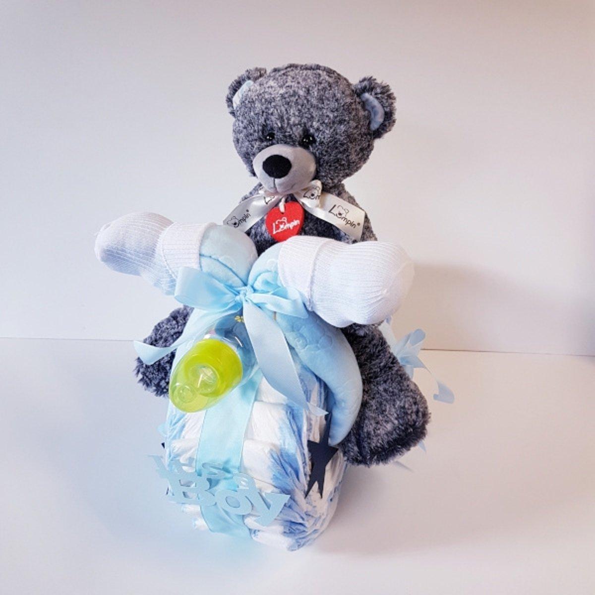 Orgineel Kraamcadeau Motor Jongen | Kraamcadeau | Kraampakket | Baby Cadeau