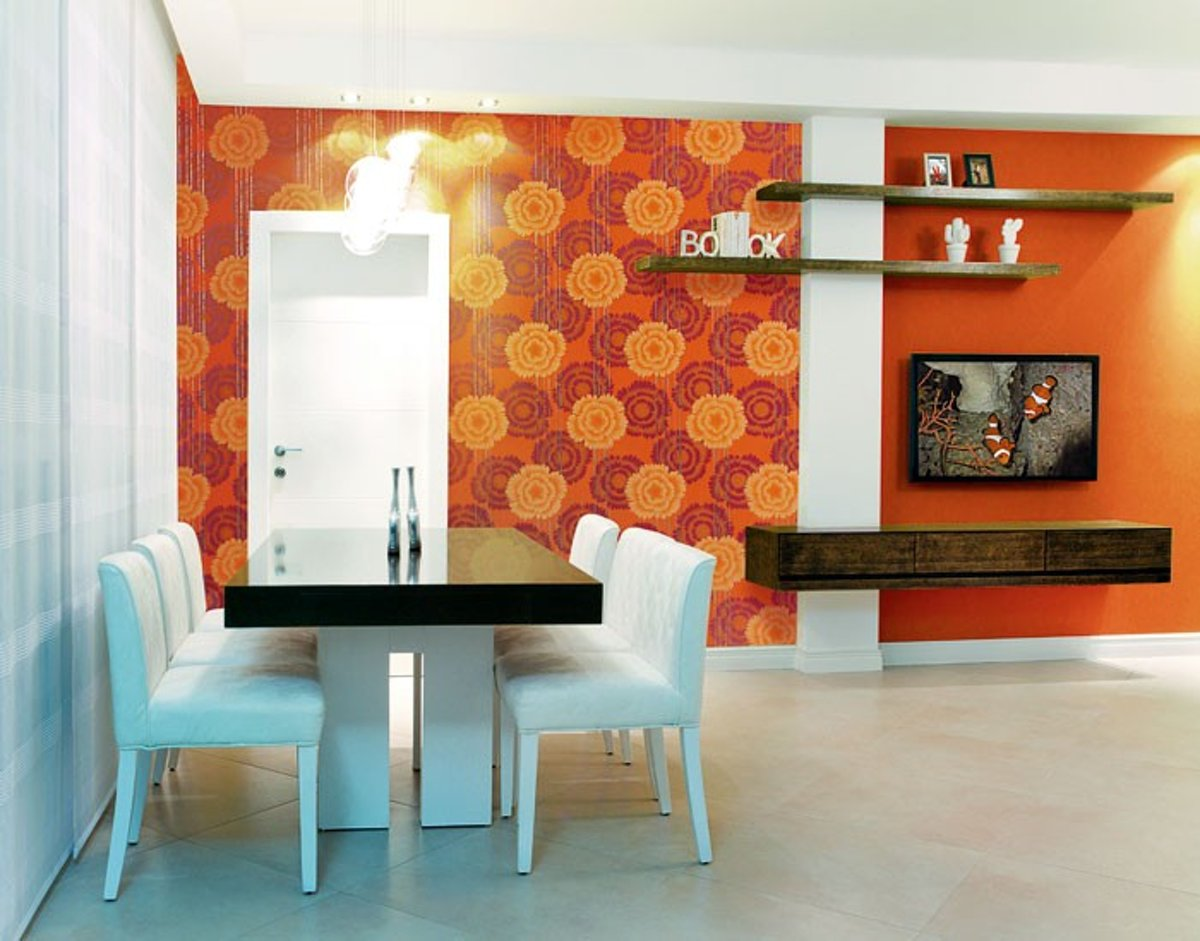 Retro Behangpapier Slaapkamer : Bol retro behang bloemen design edem behangpapier