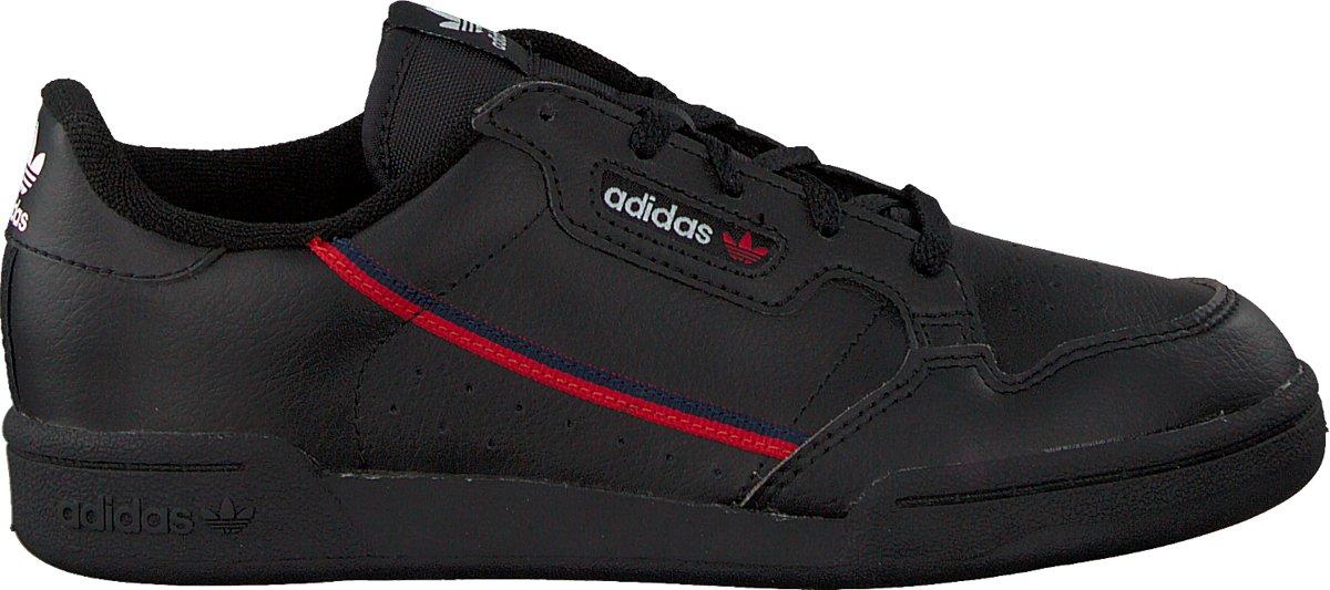 Adidas Meisjes Sneakers Continental 80 C - Zwart - Maat 32 kopen