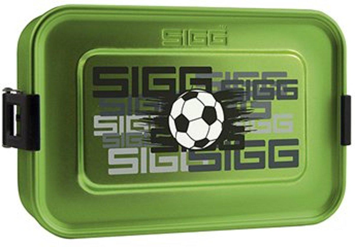 Sigg Broodtrommel Plus S Voetbal Aluminium 17 X 12 X 6 Cm kopen