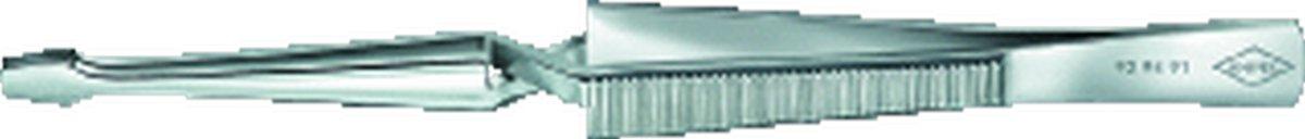 KNIP pincet 9294, verenstaal, le 160mm, greep vernikk, trapezium kopen