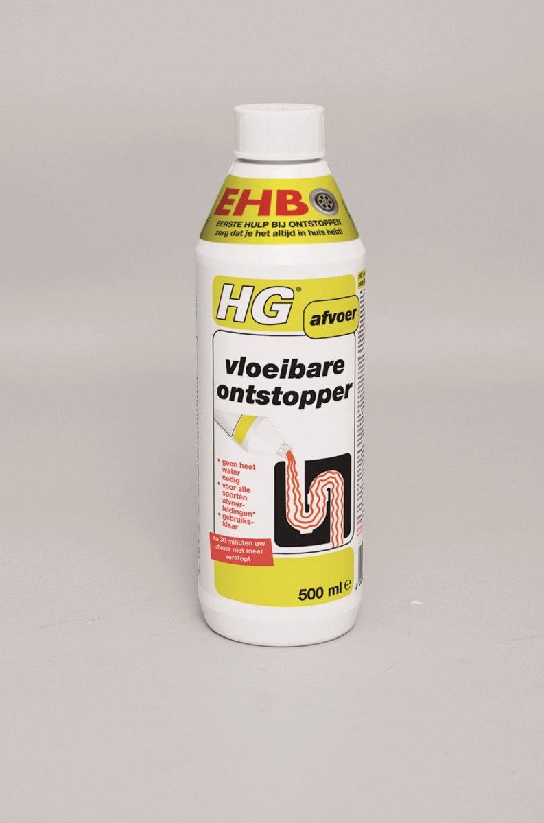 HG Vloeibare ontstopper   3 x 500 ml kopen