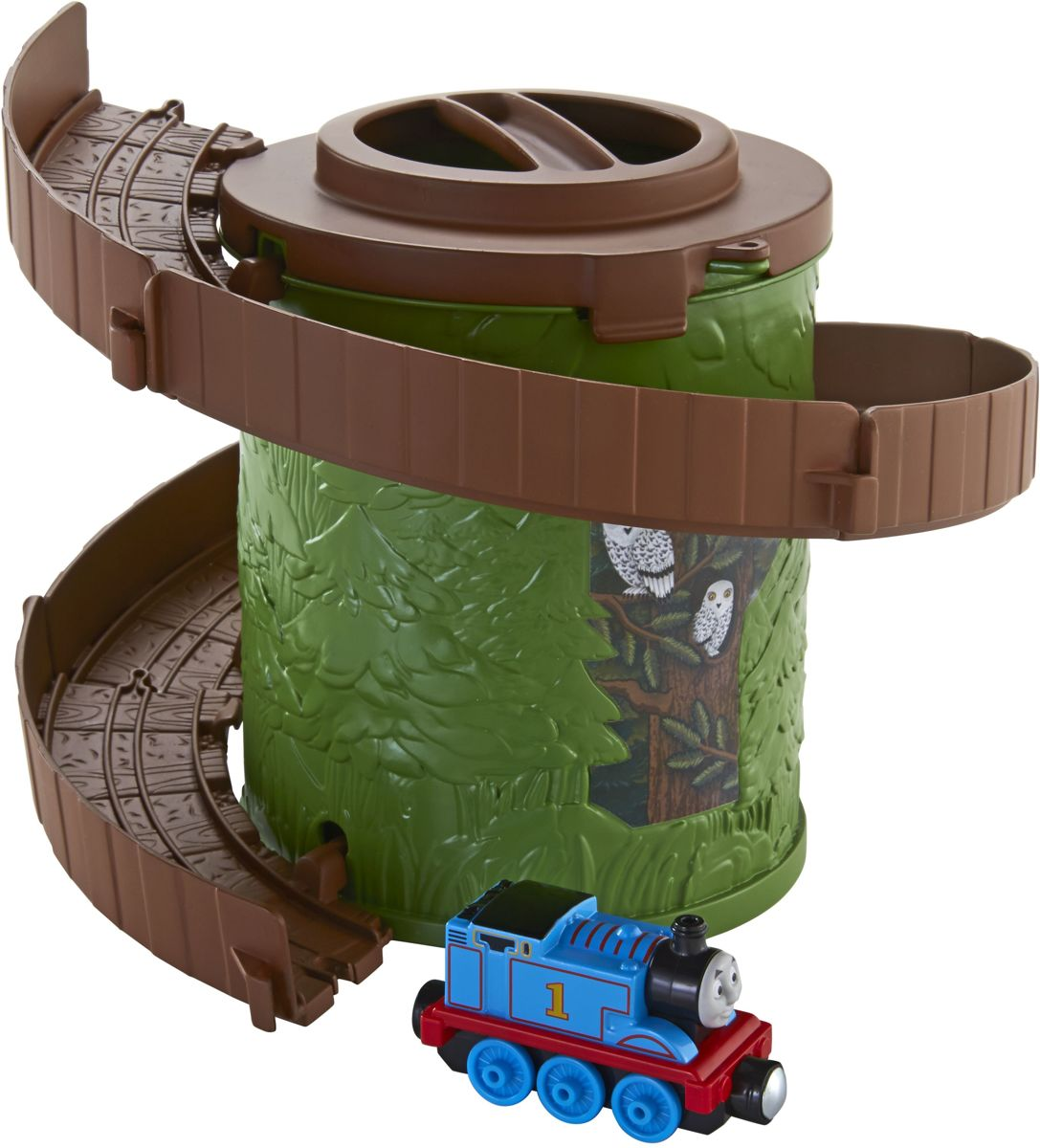 Speelset Thomas Spiral Tower groen