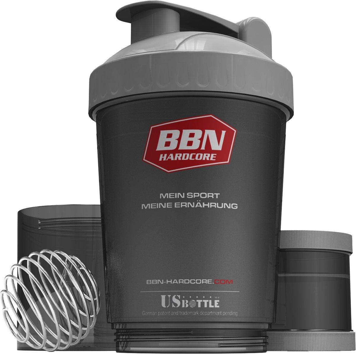 Foto van Best Body Sportswear Shakebeker Bottle US 3 in 1 Multi Shaker - 600 ml
