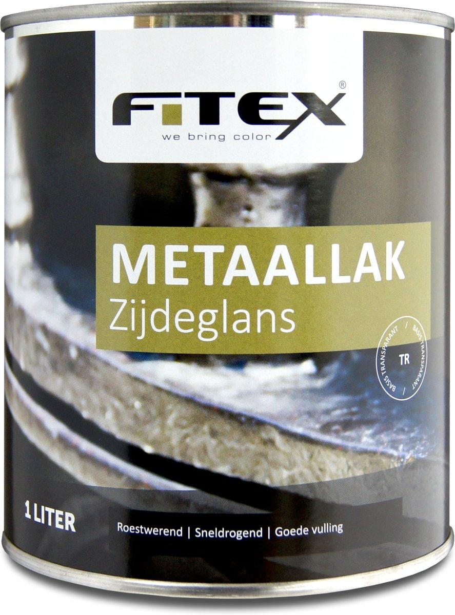 Fitex-Metaallak-Zijdeglans-Grachtengroen Q0.05.10-1 liter