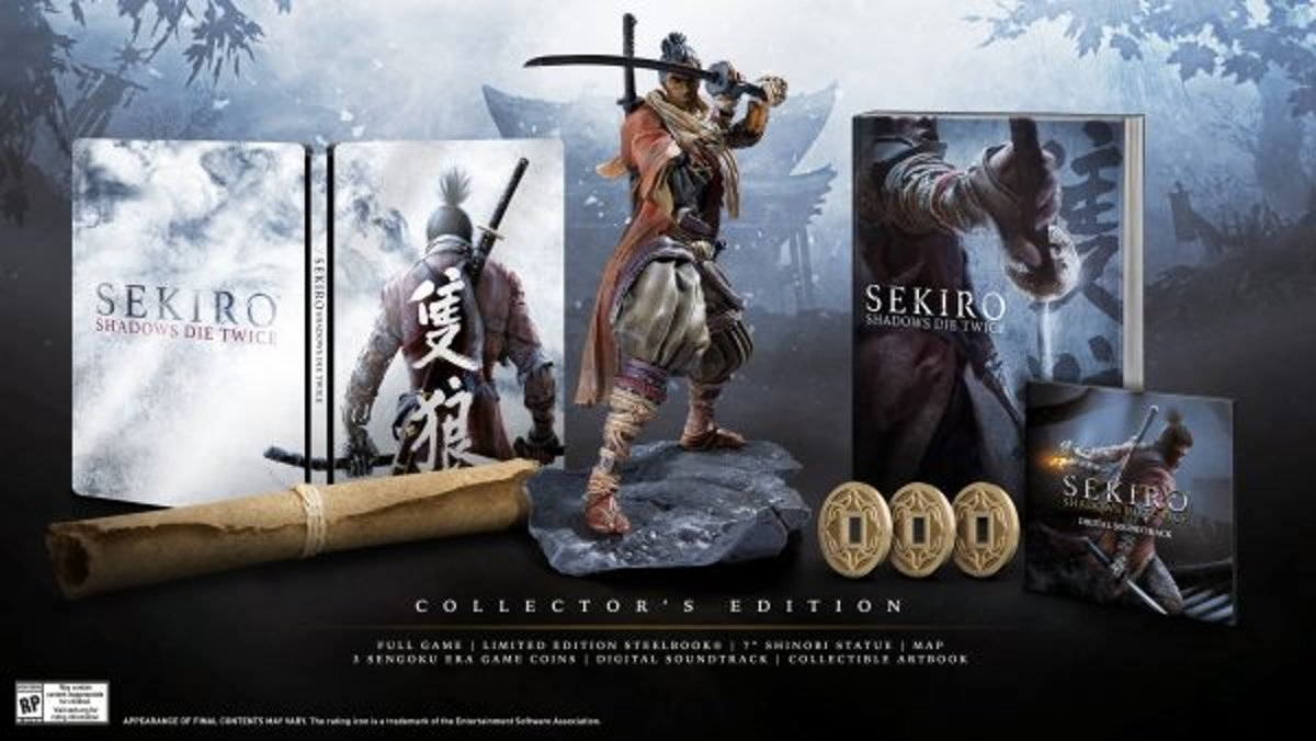Sekiro: Shadows Die Twice -  Collector's Edition PlayStation 4
