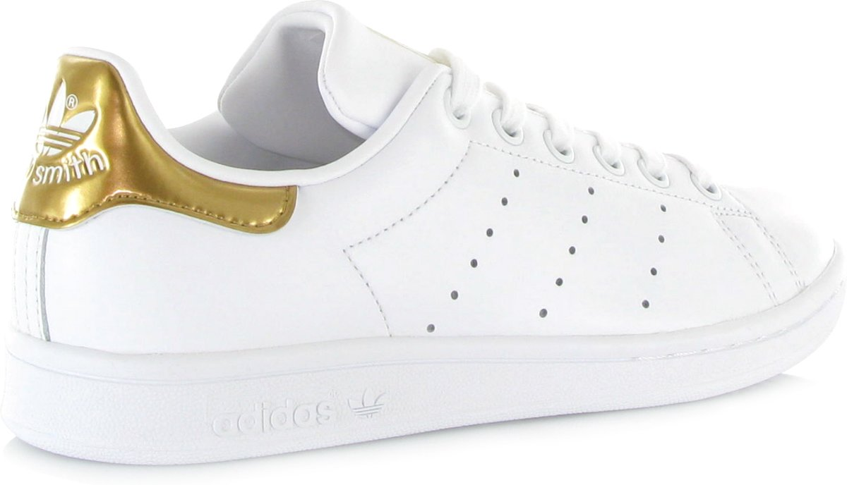 adidas schoenen dames wit goud