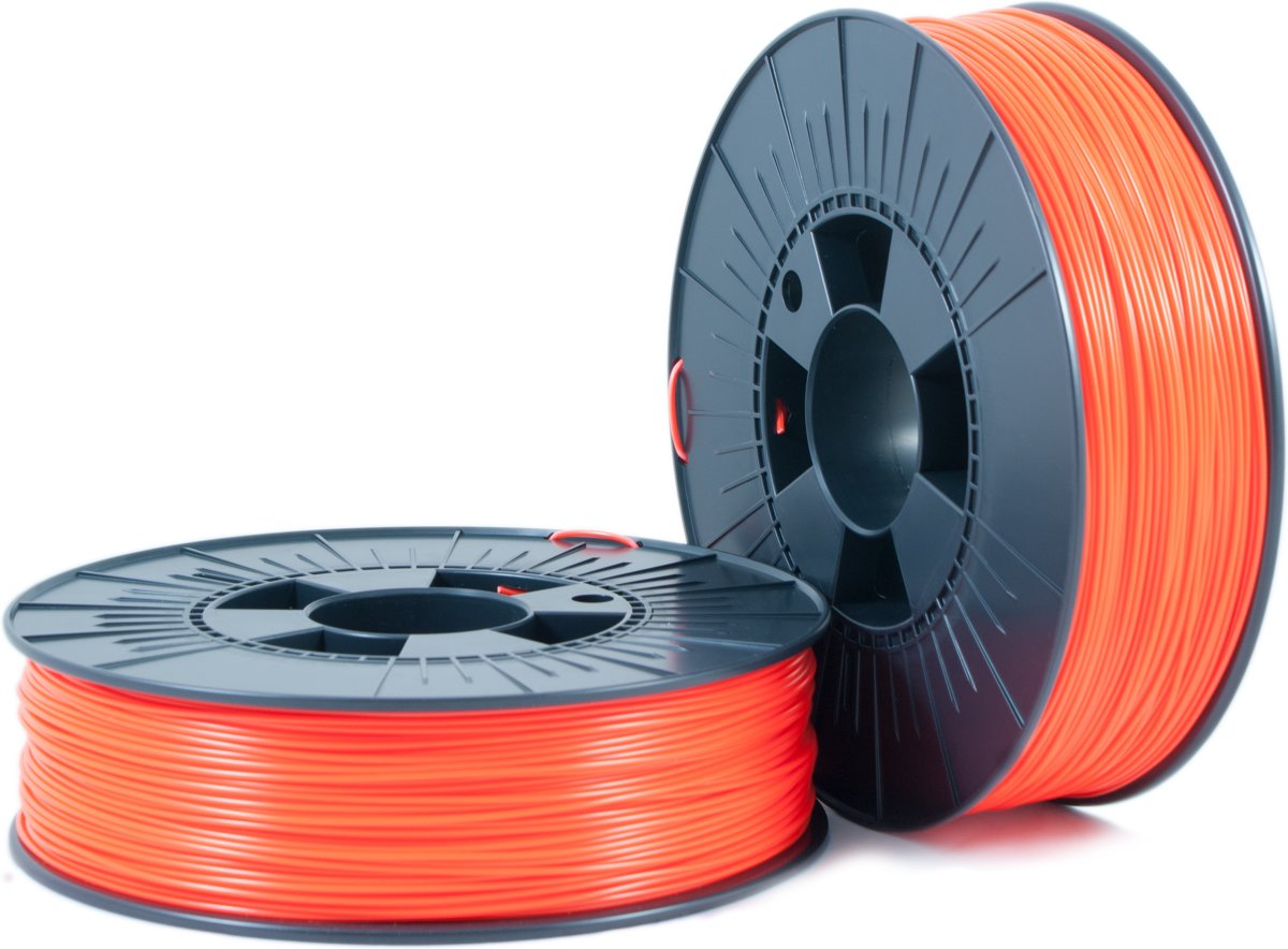 ABS 1,75mm  orange fluor 0,75kg - 3D Filament Supplies