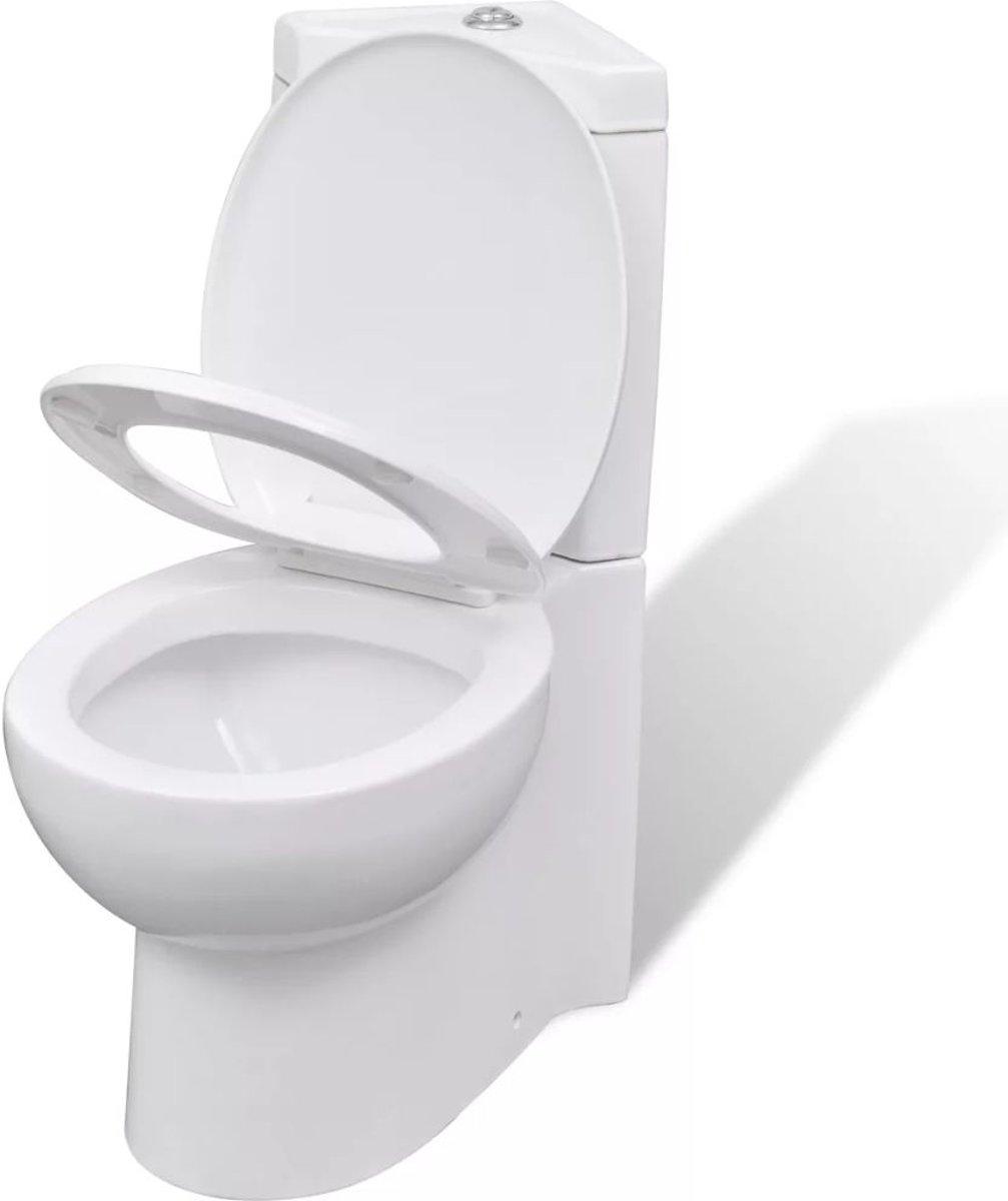 Cool Keramisch Toilet Voor In De Hoek Wit Pabps2019 Chair Design Images Pabps2019Com