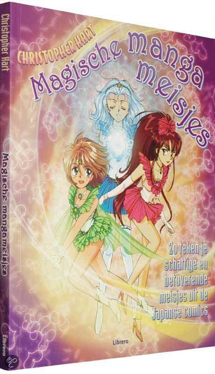 Ongebruikt bol.com | Magische manga meisjes, Christopher Hart | 9789057648359 FU-75