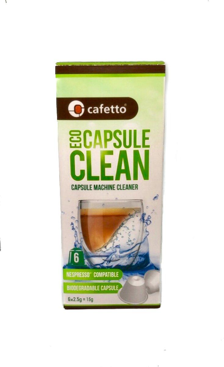 Cafetto Capsulereiniger Nespresso Machines  6 x 2.5 gr kopen