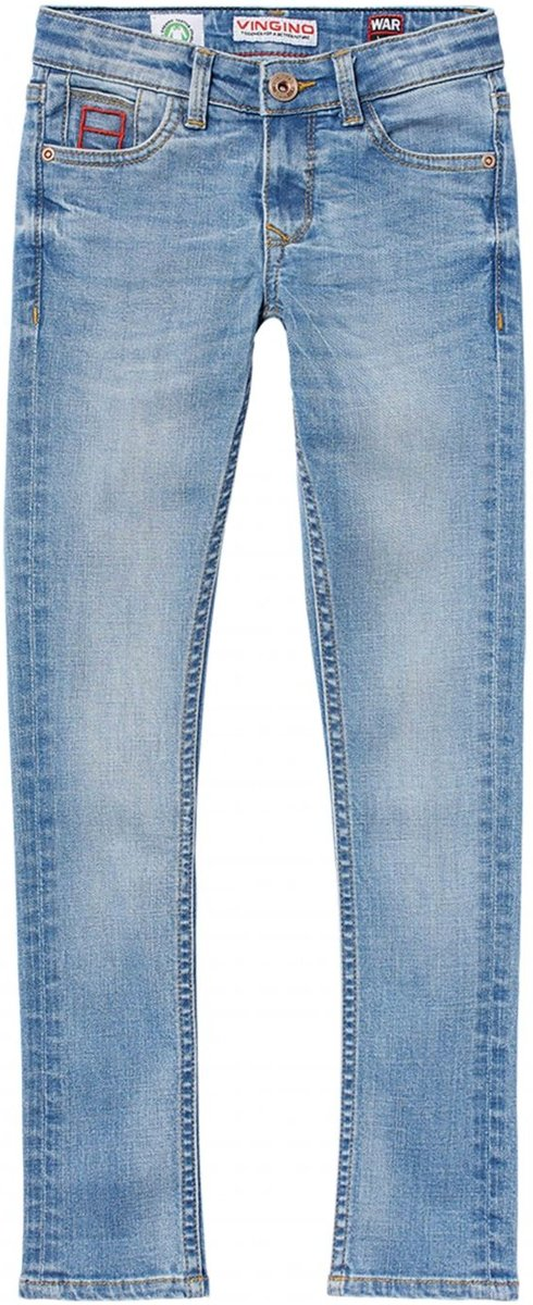 Vingino Jongens Jeans Light Indigo Maat 176