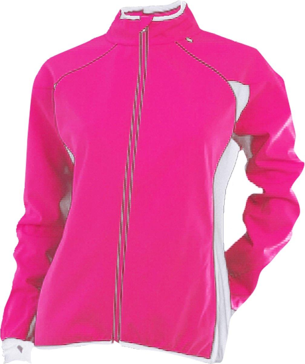 Rucanor Marla Jacket - Hardloopjas - Dames - Maat XL - Rose