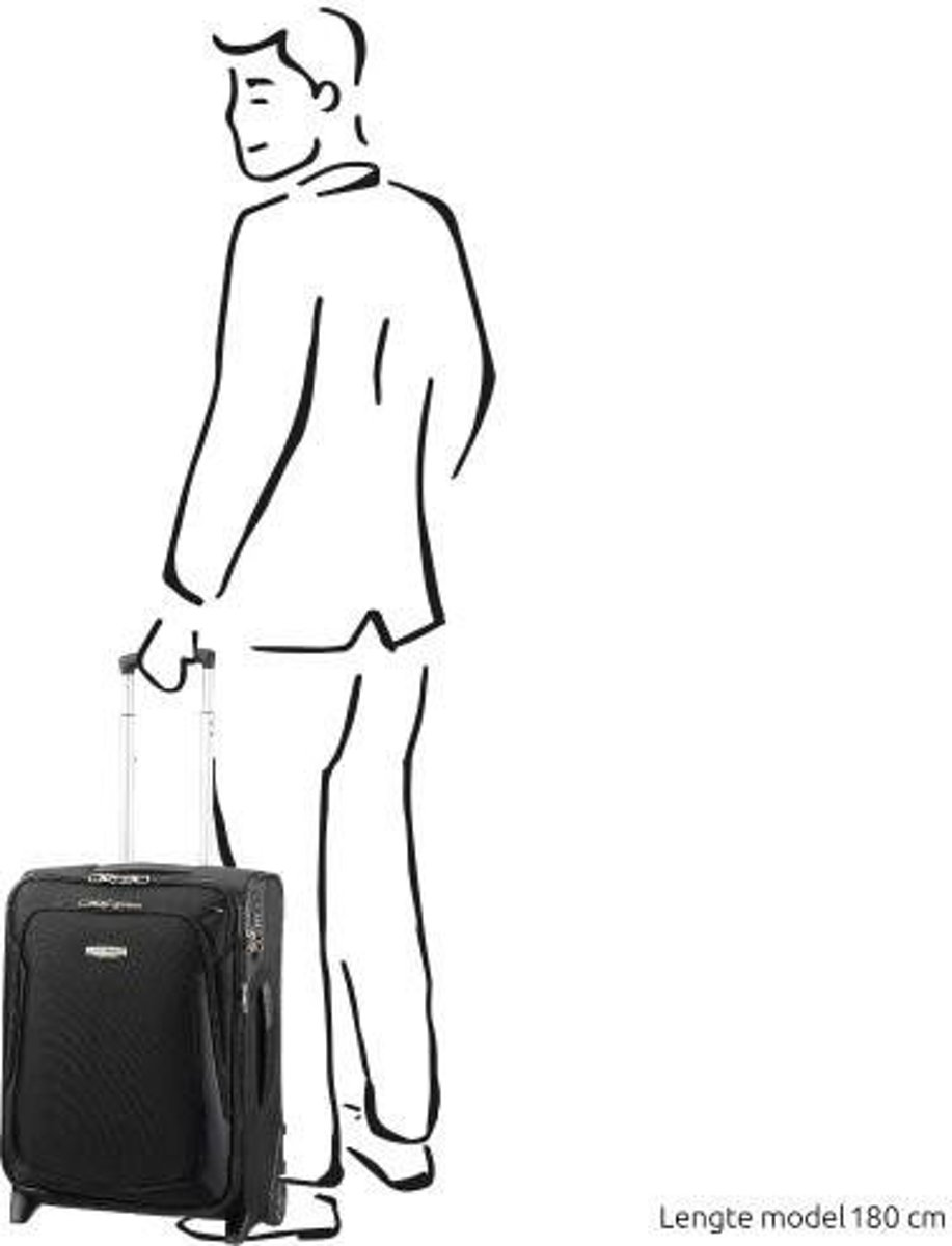 e4ad6fe7e5c bol.com | Samsonite X'Blade 3.0 Upright 55 exp Black handbagage koffer