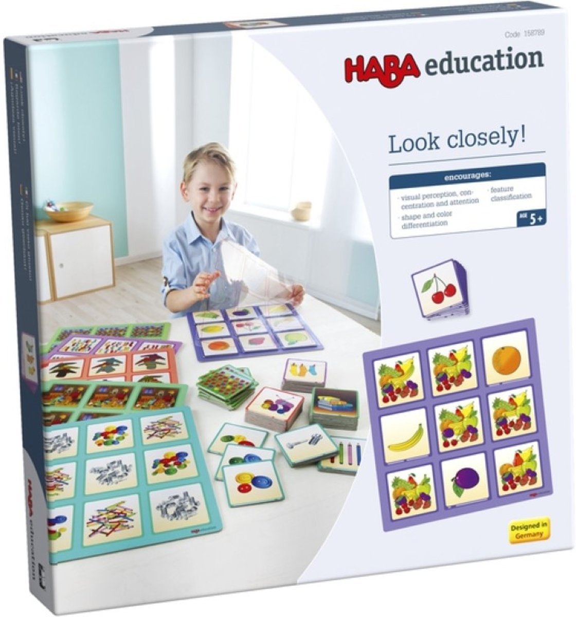 Haba Education - Look Closely! 69 pieces