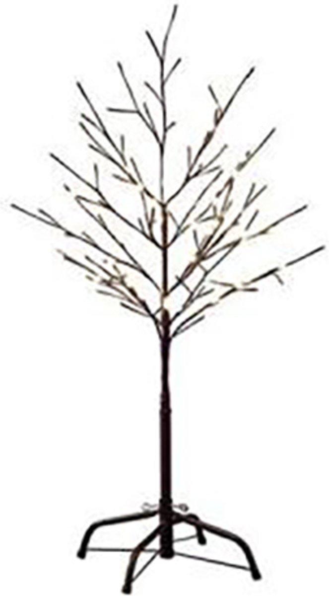 Konstsmide 3377 - Lichttak - 96 lamps LED boom bruin - 100 cm - 24V - voor buiten - warmwit kopen