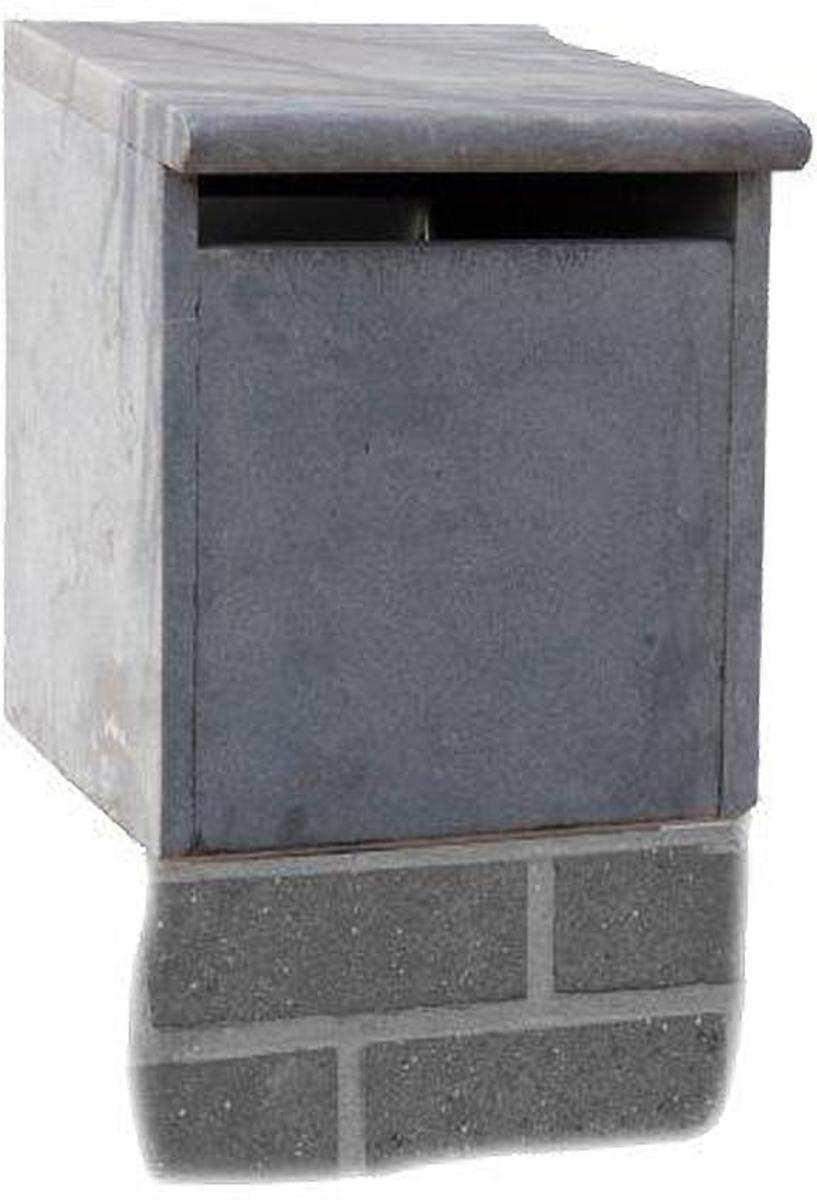 blauwsteen brievenbus voor op zuil