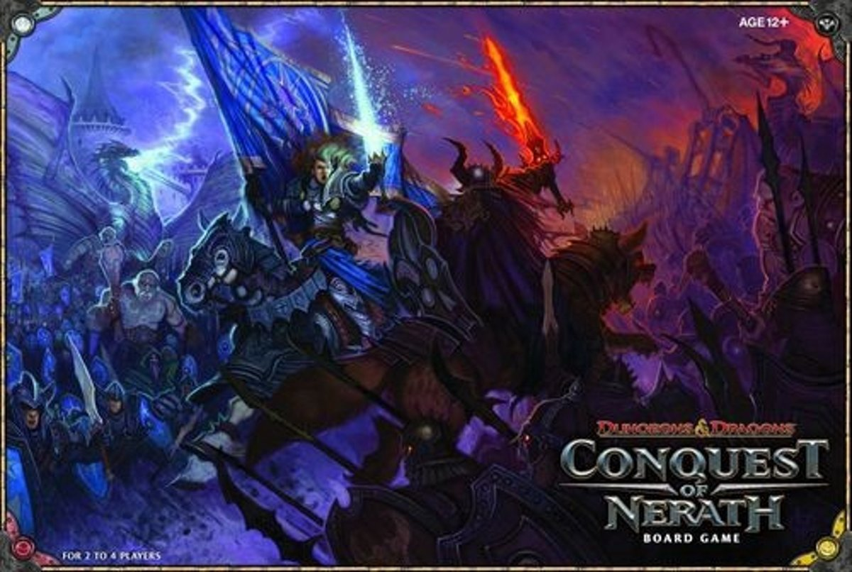 Dungeons & Dragons Conquest Of Nerath - Bordspel - Engelstalig