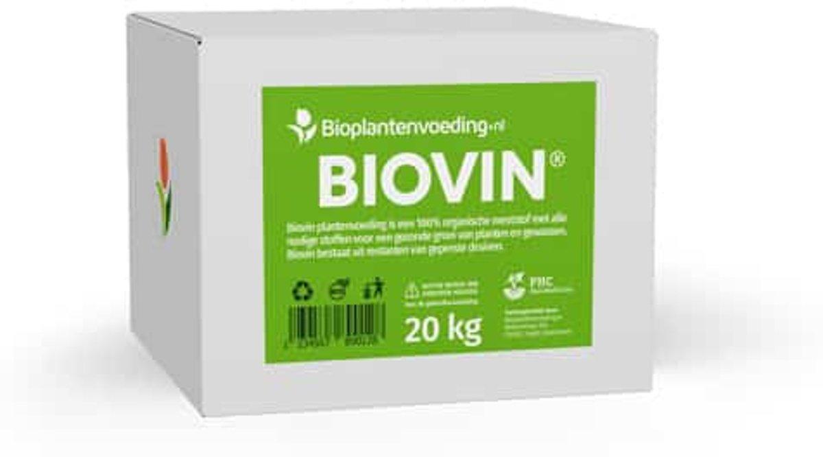 Biovin - 20 kilogram | Biologische plantenvoeding