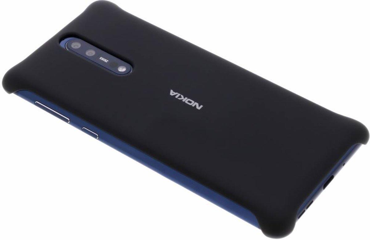 Cas De Gel Noir Pour Le 8 Nokia JT57vM