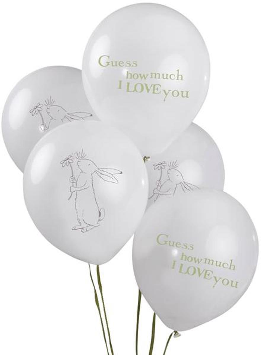 Guess How Much I Love You ballonnen ø 28 cm. 8 st.