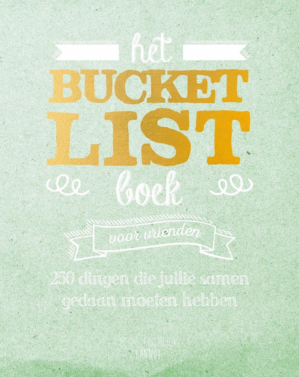 Afbeelding voor Het Bucketlist boek voor vrienden
