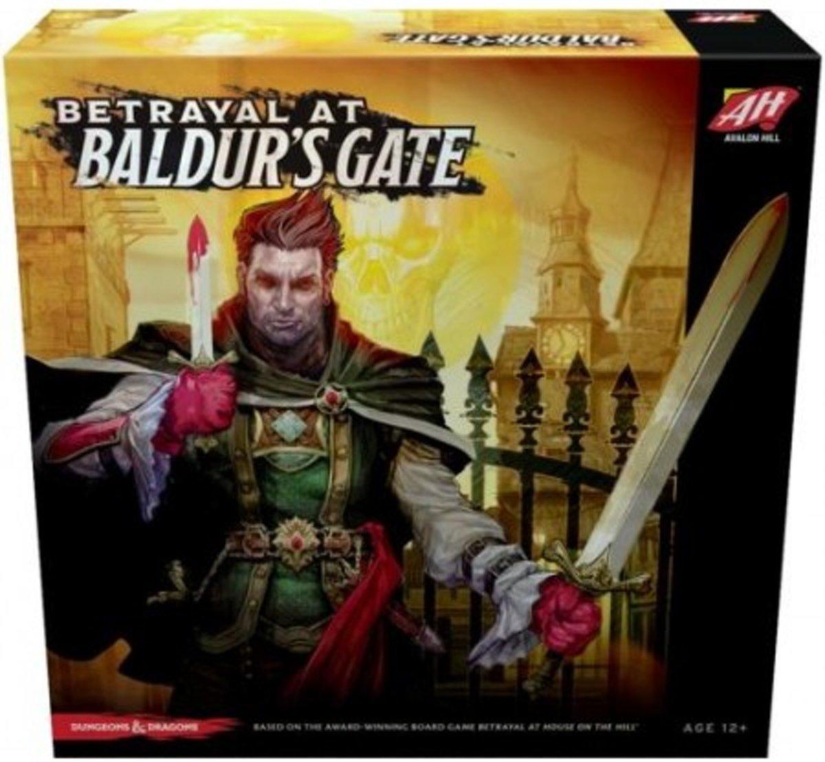 Betrayal at Baldur's Gate -Bordspel