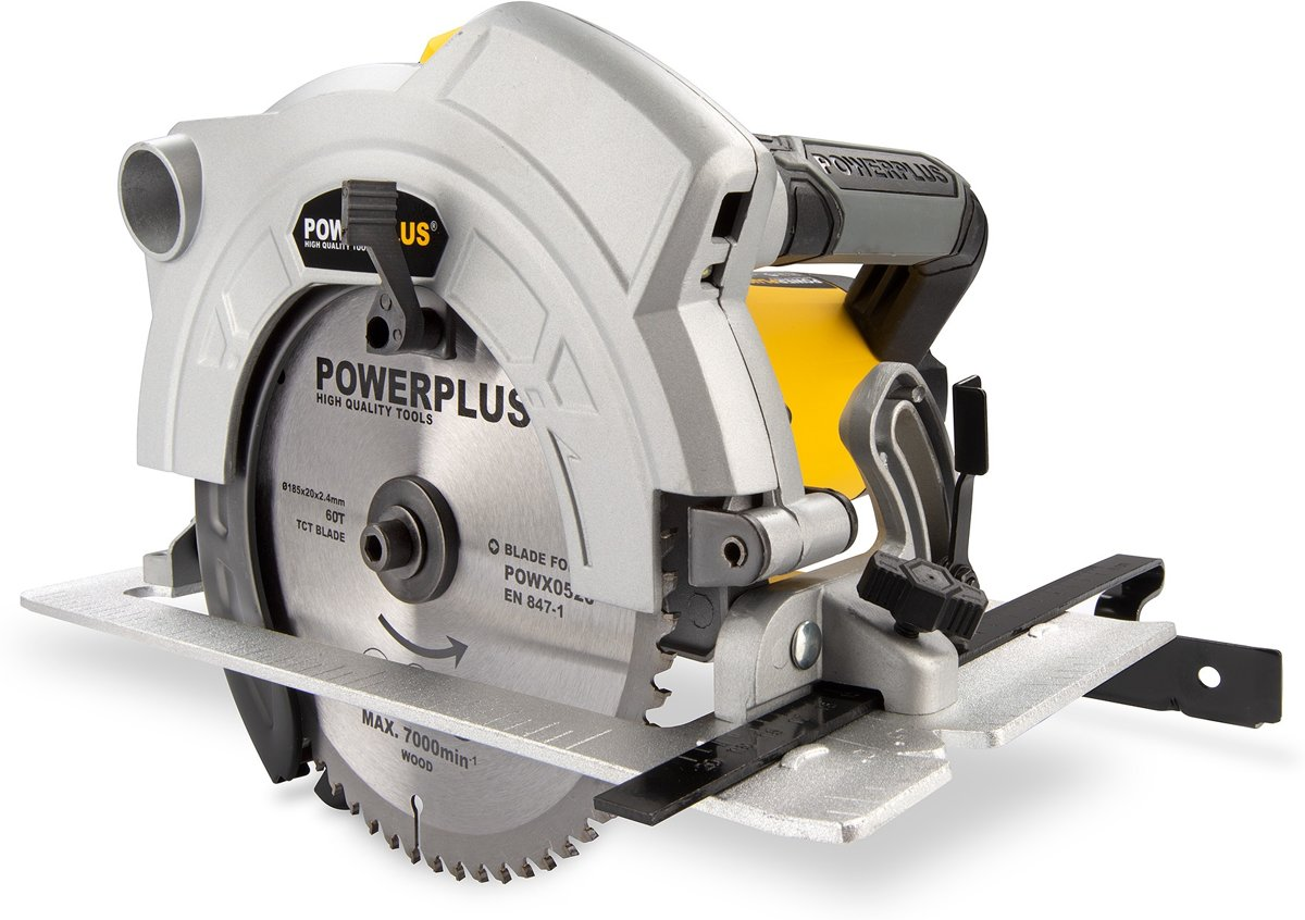 Powerplus POWX0520 Cirkelzaag - 1500 W - Ø 185 mm