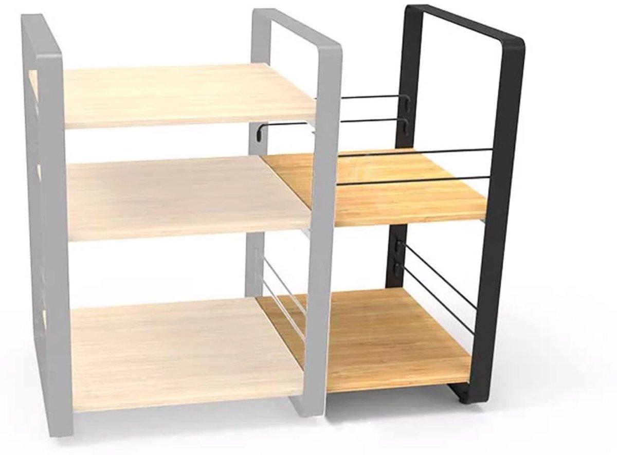 NorStone Loft Side bamboo Audio meubel kopen