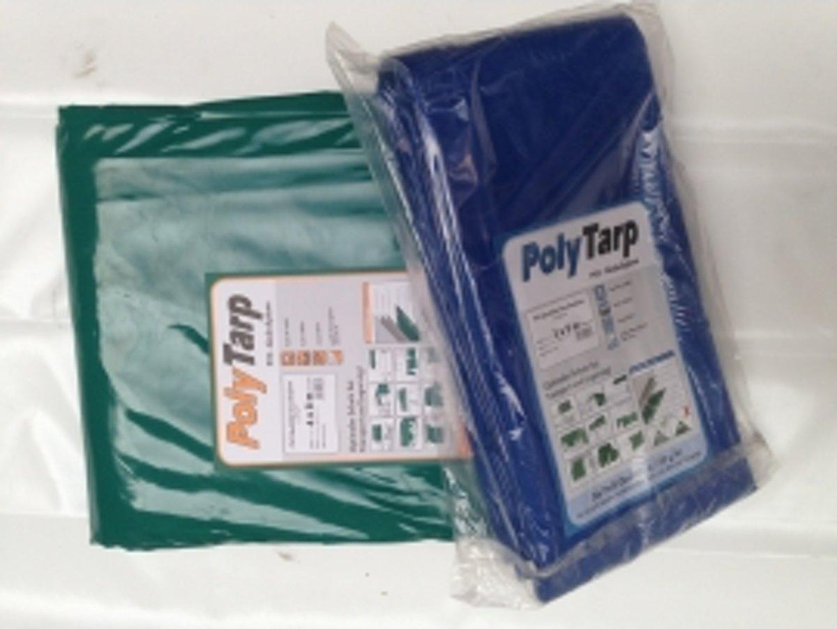 Afdekzeil | Dekzeil | Dekkleed | Afdekkleed | Bache | PVC-600 |3,5 x 7 blauw
