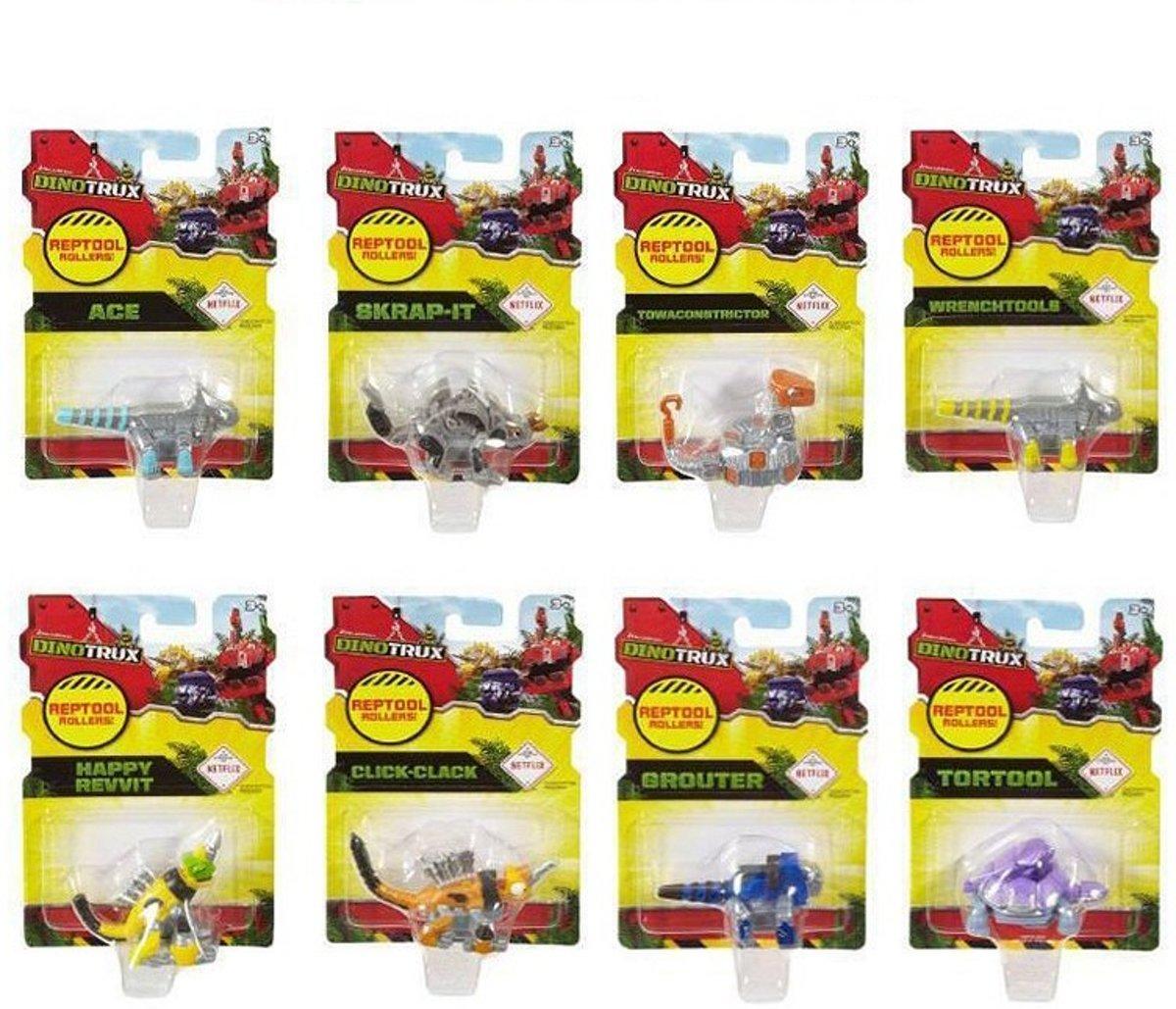 Set van 8 verschillende Dinotrux reptiel rollers kopen
