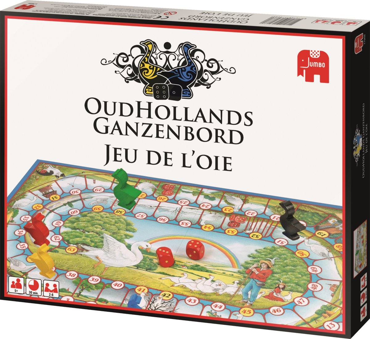 Ganzenbord NL/FR - Bordspel