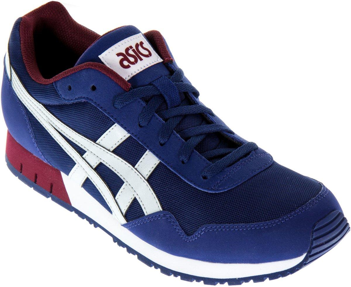 6da5872a0aa bol.com | Asics Curreo Sportschoenen - Maat 42 - Mannen - blauw/grijs/rood