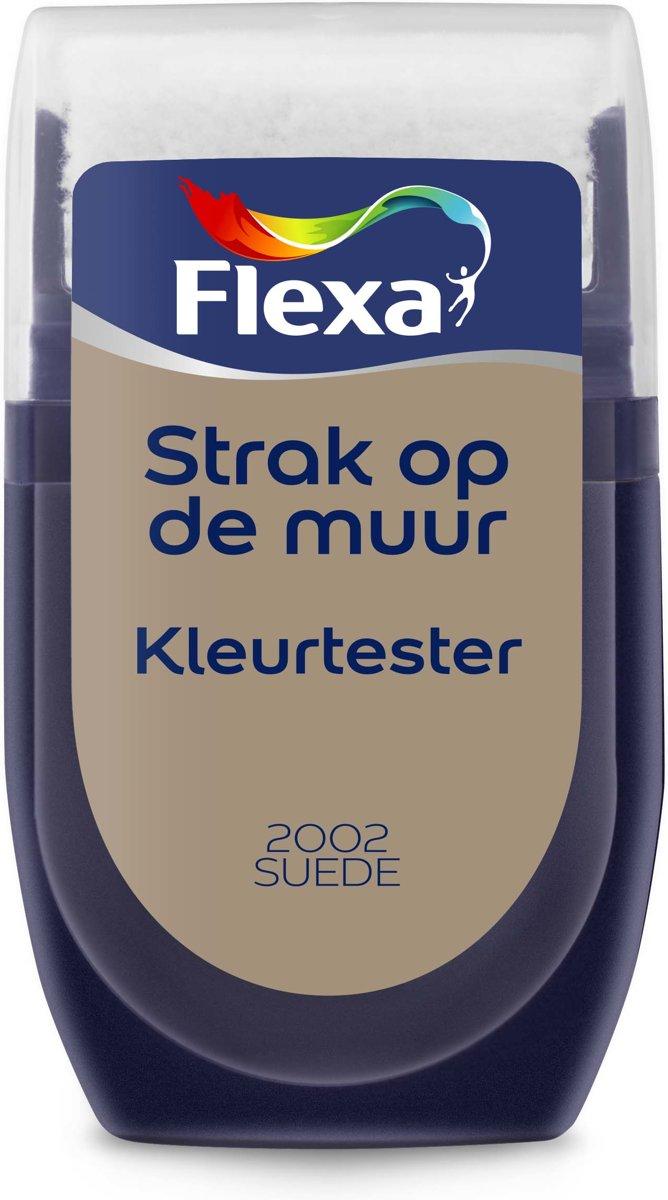 Flexa Strak op de Muur Muurverf Tester 2002 Suede 30 ML kopen