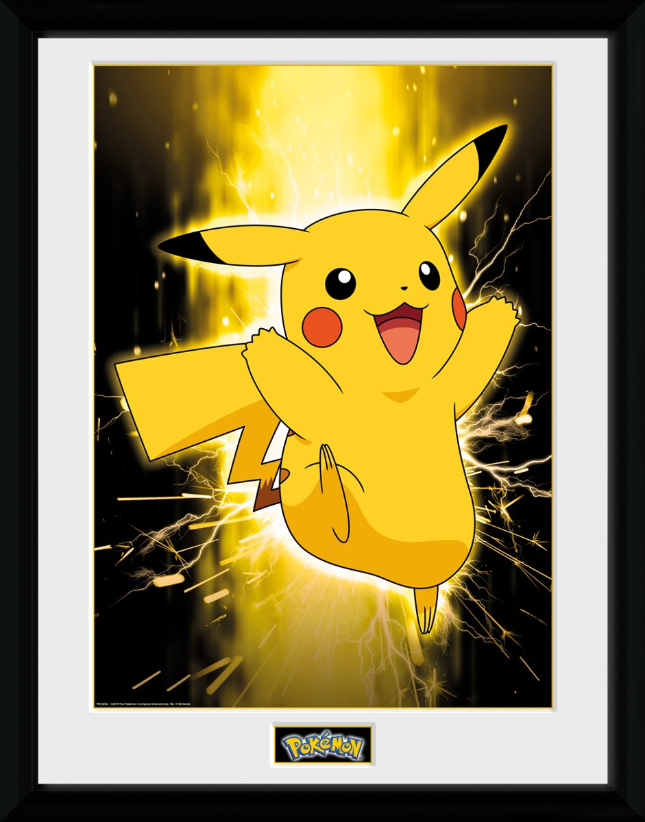 Framed Collector Print met kader 30 x 40 cm Pokemon kopen
