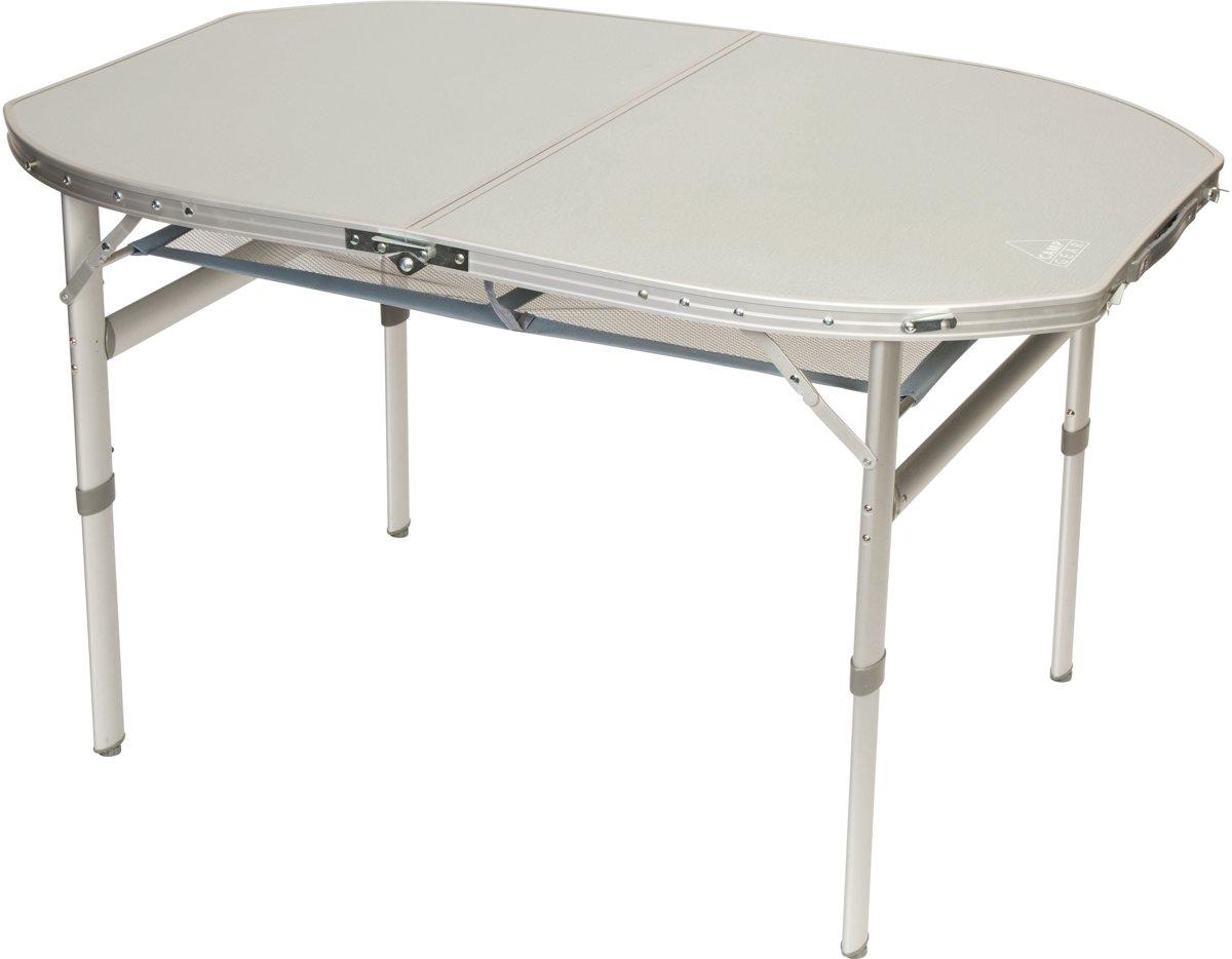 Camp-gear Tafel - Ovaal - Koffermodel - 120x80 Cm kopen