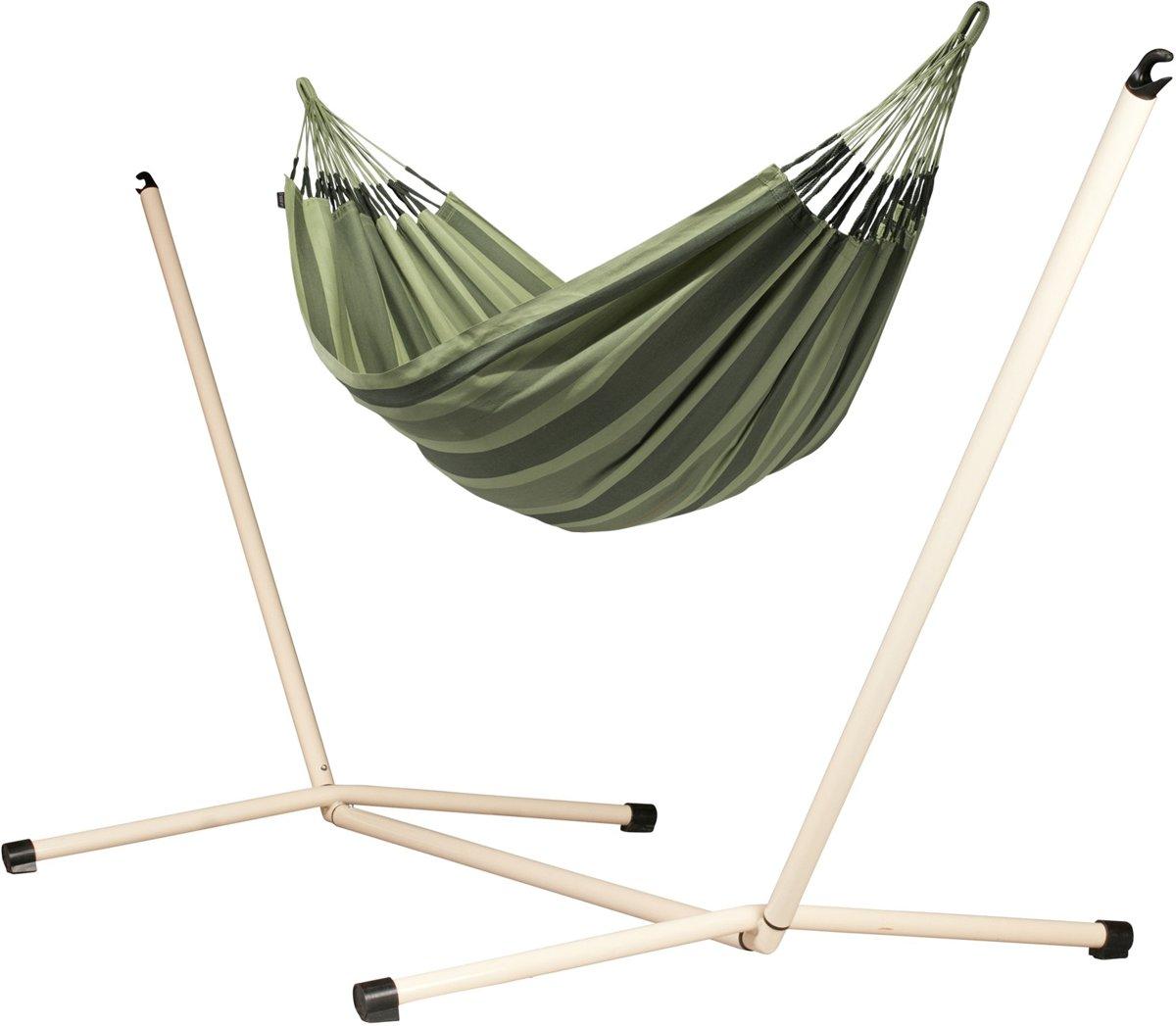 Hangmatset: 2-persoons hangmat AVENTURA forest + 2-persoons hangmat Standaard NEPTUNO