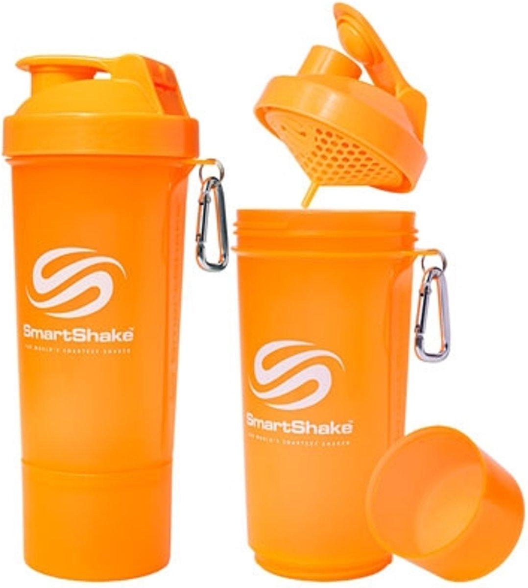 SmartShake Slim 500ml - 1 stuk - Neon White kopen