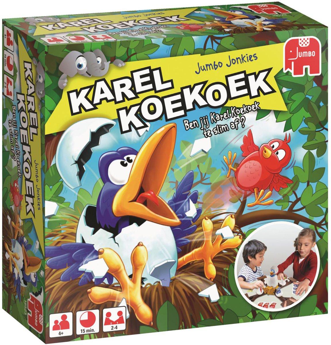 Karel Koekoek - Kinderspel voor €13,99