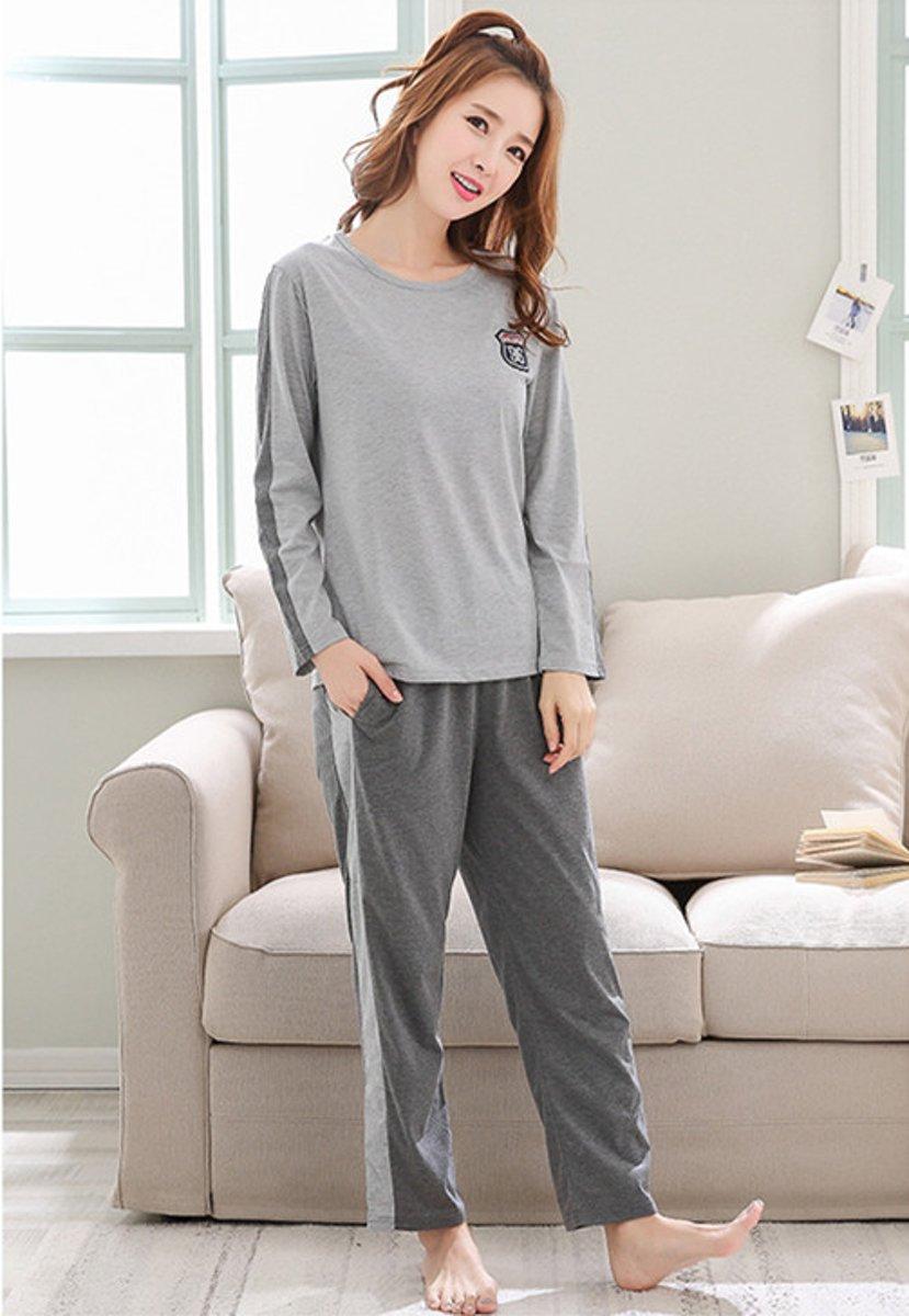Printed lange mouwen pyjamasets XL 6107 (Raadpleeg de productbeschrijving voor de maat) kopen
